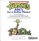 Teenage Mutant Ninja Turtles ABC s for a better planet