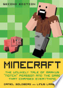 Minecraft : an unknown and bored computer programmer. today, he...