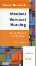 Clinical Handbook for Medical surgical Nursing