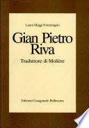 Gian Pietro Riva  traduttore di Moli  re