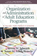 Organization and Administration of Adult Education Programs