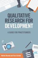 Qualitative Research for Development