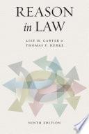 Reason in Law