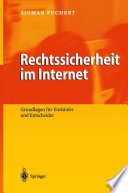 Rechtssicherheit im Internet