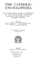 The Catholic Encyclopedia: Brow[ns]-Clancy