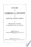 Poems for Catholics   Convents
