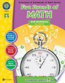 Five Strands Of Math Drills Big Book Gr 3 5 book