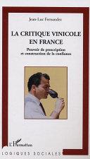 download ebook la critique vinicole en france pdf epub