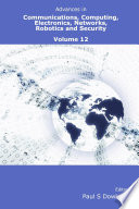 Advances in Communications  Computing  Electronics  Networks  Robotics and Security Volume 12