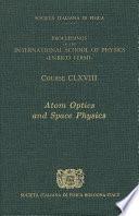 Atom Optics and Space Physics