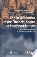 The Development Of The Financial Sector In Southeast Europe