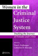 download ebook women in the criminal justice system pdf epub