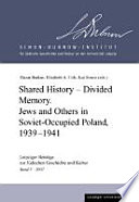 Shared History  Divided Memory