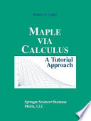 Maple via Calculus
