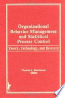 Organizational Behavior Management and Statistical Process Control