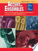 Accent On Ensembles Book 2