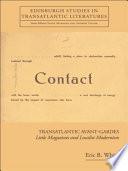 Transatlantic Avant Gardes Little Magazines And Localist Modernism book