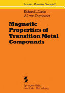 Magnetic Properties of Transition Metal Compounds