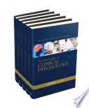 Encyclopedia of Clinical Psychology Set