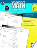 Singapore Math Challenge  Grades 4   6