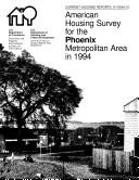 Current Housing Reports: American Housing Survey for the Phoenix Metropolitan Area 1994