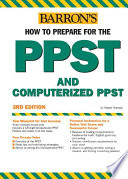 Barron s how to Prepare for the PPST Computerized PPST
