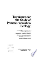 Techniques for the Study of Primate Population Ecology