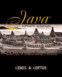 Java Software Solutions  CD ROM