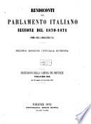 Rendiconti del Parlamento Italiano
