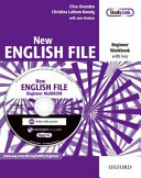 New English File: Beginner: Workbook with key and MultiROM Pack