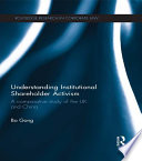 Understanding Institutional Shareholder Activism
