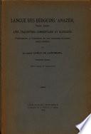 Langue Des Bedouins Anazeh