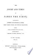 The court and times of James the first