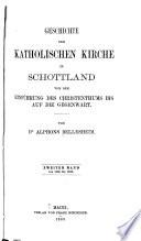 Geschichte der Katholischen Kirche in Schottland: Von 1560 bis 1878