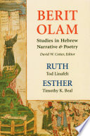 Berit Olam  Ruth and Esther