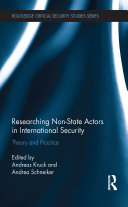 Researching Non-state Actors in International Security