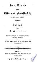 """""""Der"""" Brand von Wiener Neustadt, am 8. September 1834"""