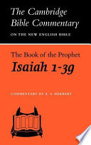 The Book Of The Prophet Isaiah, 1-39 : the closing half of the...