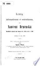 Liber informationum et sententiarum