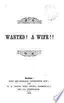 Wanted A Wife