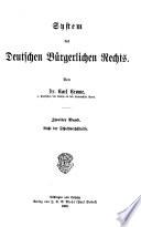 System des deutschen b  rgerlichen rechts