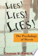 Lies! Lies!! Lies!!!