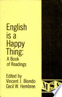 English is a Happy Thing A Book of Reading