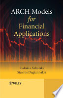 ARCH Models for Financial Applications