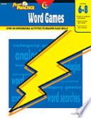 Power Practice  Word Games  Gr  6 8  eBook