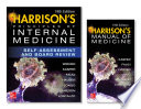 Harrison s Principles of Internal Medicine Self Assessment and Board Review  19th Edition and Harrison s Manual of Medicine 19th Edition  EBook  VAL PAK