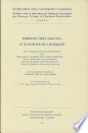 Hermann Diels (1848-1922) et la science de l'antiquité
