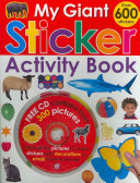My Giant Sticker Activity Book  with CD