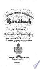 Hof- und Adreß-Handbuch des Fürstenthums Hohenzollern-Sigmaringen: 1844