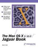 Mac Os X V 10 2 Jaguar Book